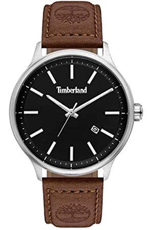 Timberland Reloj Analógico para Hombre de Cuarzo con Correa en Cuero TBL15638JS.02