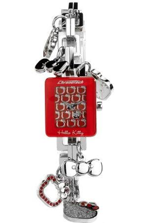 Hello Kitty CHRONOTECH for - Reloj analógico de mujer de cuarzo con correa de acero inoxidable - sumergible a 30 metros