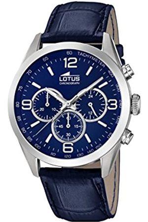 Lotus Watches Reloj Cronógrafo para Hombre de Cuarzo con Correa en Cuero 18155/4