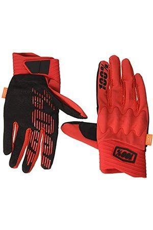 100 Percent Cognito 100% Glove Red/Black LG Guantes para ocasión especial