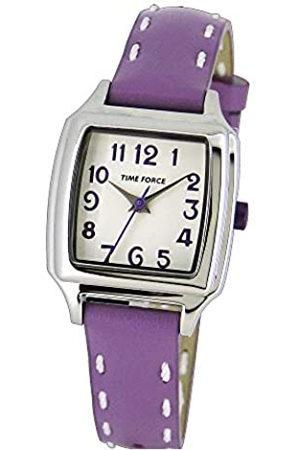 Time Force Reloj Analógico para Niños de Cuarzo con Correa en Cuero TF4114B08
