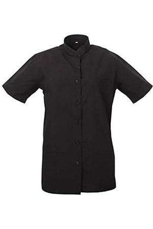 MISEMIYA Camisa Cuello Mao Uniforme Camarera Mujer MESERO DEPENDIENTA Barman COCTELERA PROMOTRORAS Blusa - Ref.8271B - XX-Large