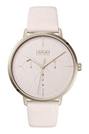 HUGO Reloj Analógico para Mujer de Cuarzo con Correa en Cuero 1540051