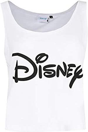 Disney Mujer Sin mangas - Plain Logo Camiseta de Tirantes