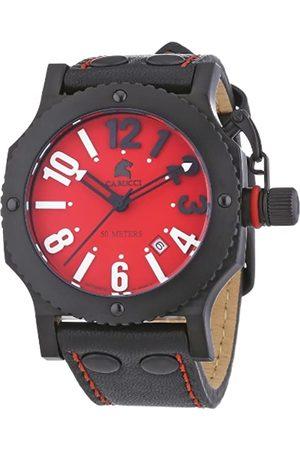 Carucci Watches CA2210RD-BK - Reloj de Pulsera Unisex, Piel