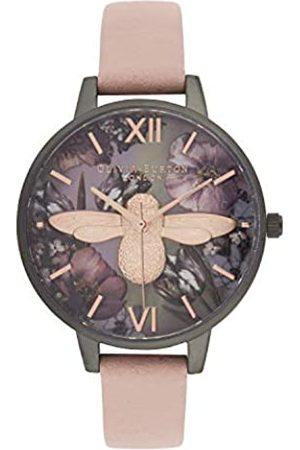 Olivia Burton Reloj para de Cuarzo japonés con Correa en plástico OB16TW02