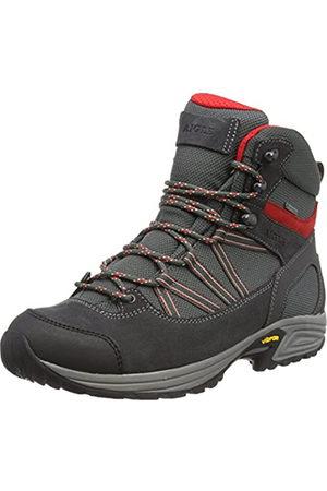 Aigle MOOVEN Mid Gore-Tex, Zapatos de High Rise Senderismo para Hombre, (Darkgrey/Rouge)