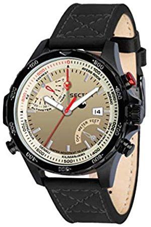 Sector Master Cuarzo - Reloj (Reloj de pulsera, Masculino, Acero inoxidable
