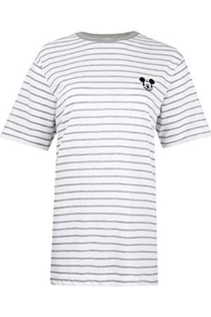 Disney Mickey Mouse Face Embroidery Camiseta