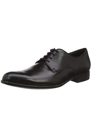 Geox U Iacopo C, Zapatos de Cordones Derby para Hombre, (Black C9999)