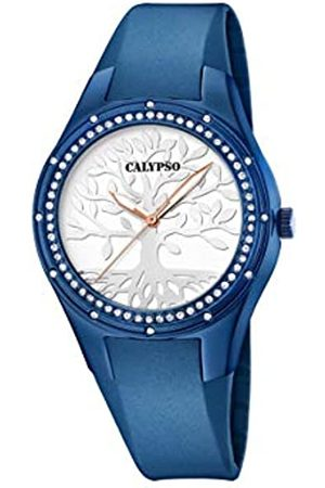 Calypso Reloj Analógico para Mujer de Cuarzo con Correa en Silicona K5721/C