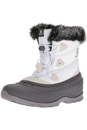 Kamik MOMENTUMLO, Botas de Nieve para Mujer, (White-Blanc Wht)