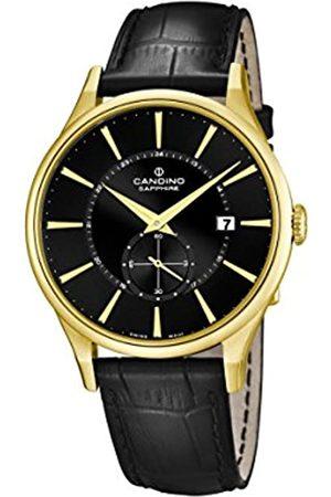 Candino Reloj Hombre de Cuarzo con Esfera analógica Pantalla y Correa de Cuero C4559/4
