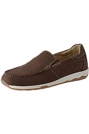 Lumberjack Worrick, Mocasines (Loafer) para Hombre, (Dk Brown Ce002)