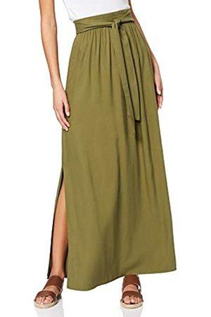 FIND Marca Amazon - Falda Larga para Verano Mujer, 46