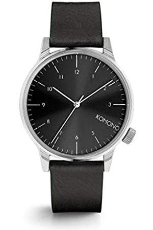 Komono Reloj Analógico de Cuarzo Unisex con Correa de Cuero – KOM-W2255