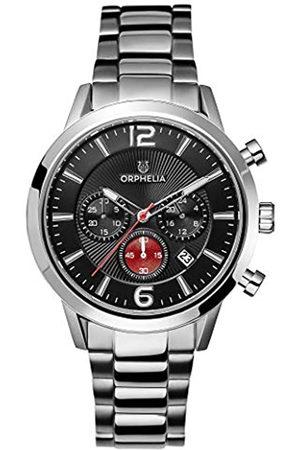 ORPHELIA Reloj Cronógrafo para Hombre de Cuarzo con Correa en Acero Inoxidable OR82807