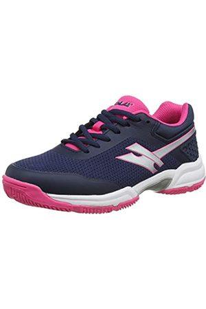 Gola Velocity Nx, Zapatillas Deportivas para Interior para Mujer, (Navy/Pink/White EK)