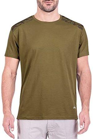 Jeep Camoucork Shoulders J8S – Camiseta de, Primavera/Verano, Hombre