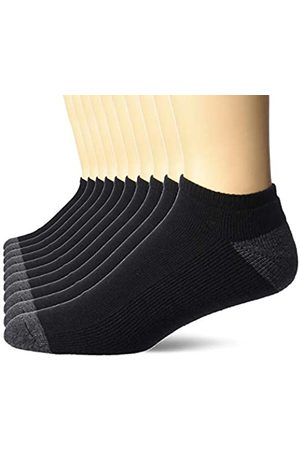 Amazon 10-Pack Cotton Half Cushioned No-Show Socks