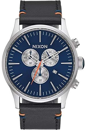 Nixon Reloj Cuarzo para Hombre con Cronógrafo Y Cuero A4051258-00