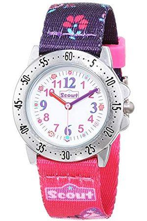 Scout Reloj Analógico para Niñas de Cuarzo con Correa en Tela 1