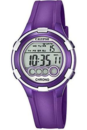 Calypso . Reloj Digital para Dama con Esfera LCD y Pantalla Digital