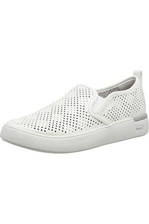 Rockport Truflex Parissa Perf Gore Slip On, Zapatillas sin Cordones para Mujer, (White 001)