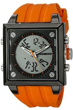 CEPHEUS CP900-690C - Reloj analógico y Digital de Cuarzo para Hombre con Correa de Silicona