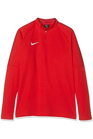 Nike Kids' Dry Academy 18 Football Top Camiseta de Manga Larga, Unisex niños, (University Red/Gym Red/(White)