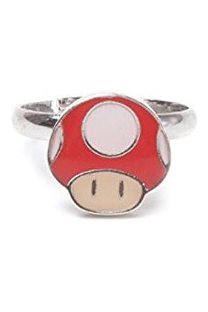 Nintendo Ring Mushroom Super Mario - Anillo (Talla M)
