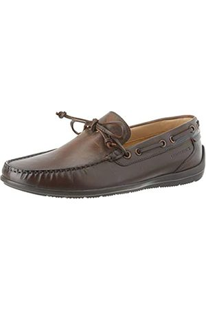 Lumberjack Leman, Mocasines (Loafer) para Hombre, (Dk Brown Ce002)