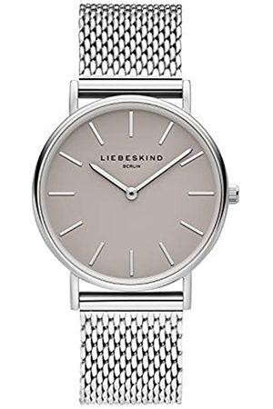 liebeskind Reloj Analógico para Mujer de Cuarzo con Correa en Acero Inoxidable LT-0169-MQ