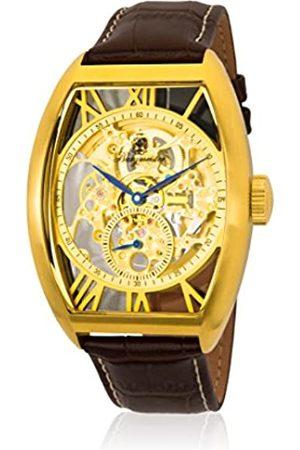 Burgmeister RelojHombredeAnalogicoconCorreaenCueroBM228-215