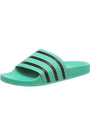 adidas Adilette Zapatos de playa y piscina Hombre, (Hi-res Green S18/Core Black/Hi-res Green S18)