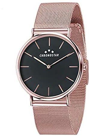 Chronostar RelojAnalógicoparaMujerdeCuarzoconCorreaenAceroInoxidableR3753252508