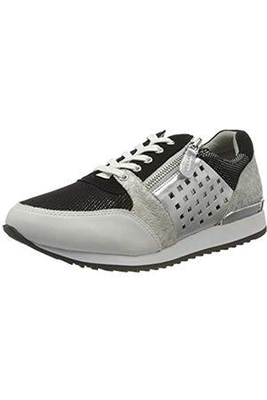 Caprice Ginga, Zapatillas para Mujer, (Black/White 15)