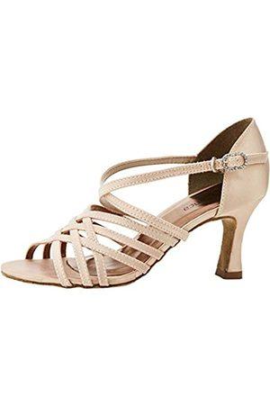 So Danca Bl178, Zapatos de Baile de Sociedad y Latina para Mujer, Champagne