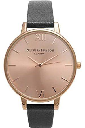 Olivia Burton Reloj Analógico para Mujer de Cuarzo con Correa en Cuero OB14BD27