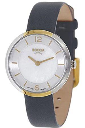 Boccia RelojDigitalparaMujerdeCuarzoconCorreaenCuero3266-04