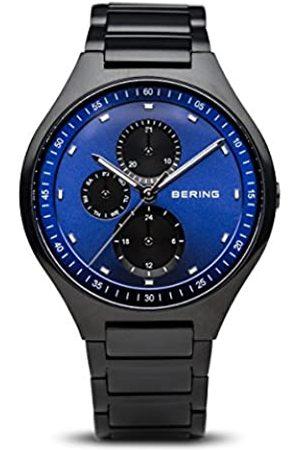 BERING RelojAnalógicoparaHombredeCuarzoconCorreaenTitanio11741-727