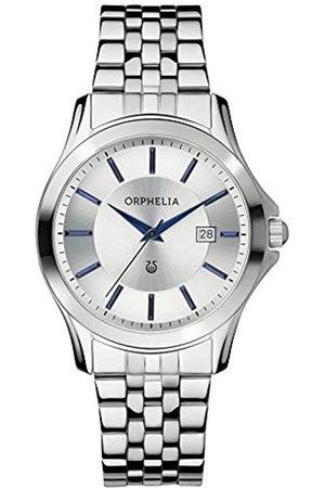 ORPHELIA Reloj analógico para Hombre de Cuarzo con Correa en Acero Inoxidable OR53770988