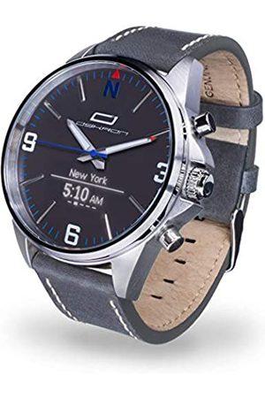 OSKRON Reloj de Pulsera para Hombre 006 Gear con Funciones de Reloj Inteligente