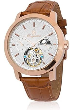 Burgmeister Reloj Hombre de Analogico con Correa en Cuero BM225-315