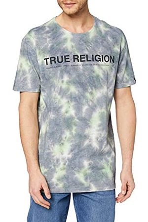 True Religion Crewneck Tshirt Batik Castle Rock Camiseta