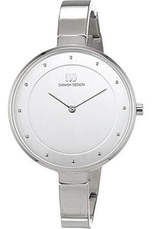 Danish Design Reloj Cuarzo para Mujer con Plata Analogico Y Plata Titanio 3326610