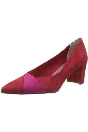 Marco Tozzi 2-2-22426-24, Zapatos de tacón con Punta Cerrada para Mujer, (Red/Pink 570)