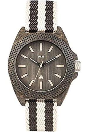 WeWood Reloj Analógico para Hombre de Cuarzo con Correa en Tela WW54001