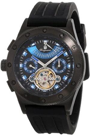 Burgmeister BM172-622A - Reloj analógico automático para Hombre con Correa de Silicona