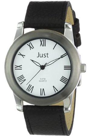 Just Watches 48-S10122WH-BK - Reloj analógico de Cuarzo para Hombre